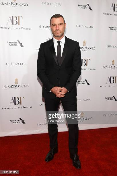Actor Liev Schreiber attends the American Ballet Theatre Fall Gala at David H Koch Theater at Lincoln Center on October 18 2017 in New York City