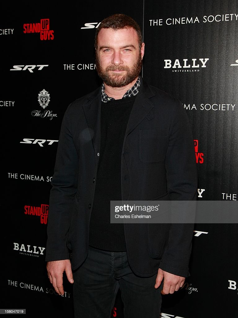 Actor Liev Schreiber attends The Cinema Society With Chrysler & Bally Host The Premiere Of 'Stand Up Guys' at The Museum of Modern Art on December 9, 2012 in New York City.