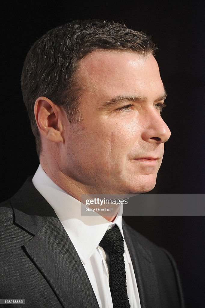 Actor Liev Schreiber attends the Museum Of Moving Image Salute To Hugh Jackman at Cipriani Wall Street on December 11, 2012 in New York City.