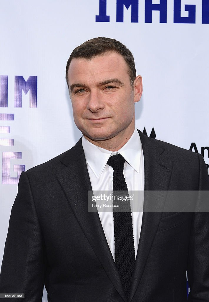 Actor Liev Schreiber attends the Museum of Moving Images salute to Hugh Jackman at Cipriani Wall Street on December 11, 2012 in New York City.