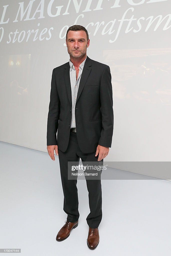 Actor <a gi-track='captionPersonalityLinkClicked' href=/galleries/search?phrase=Liev+Schreiber&family=editorial&specificpeople=203259 ng-click='$event.stopPropagation()'>Liev Schreiber</a> attends the Persol Magnificent Obsessions event honoring Julie Weiss and Jeannine Oppewall at the MMI on July 10, 2013 in New York City.