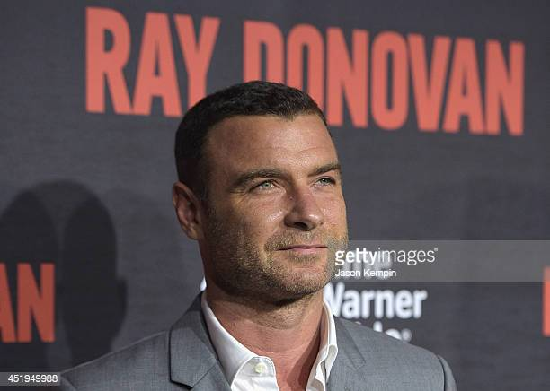 Actor Liev Schreiber attends the Season 2 Premiere Of Showtime's 'Ray Donovan' at Nobu Malibu on July 9 2014 in Malibu California