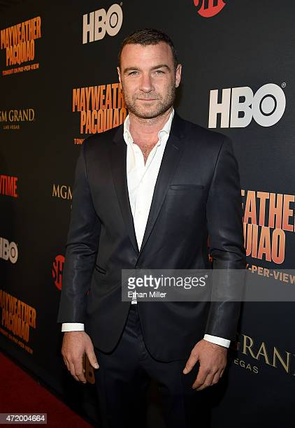 Actor Liev Schreiber attends the SHOWTIME And HBO VIP PreFight Party for 'Mayweather VS Pacquiao' at MGM Grand Hotel Casino on May 2 2015 in Las...
