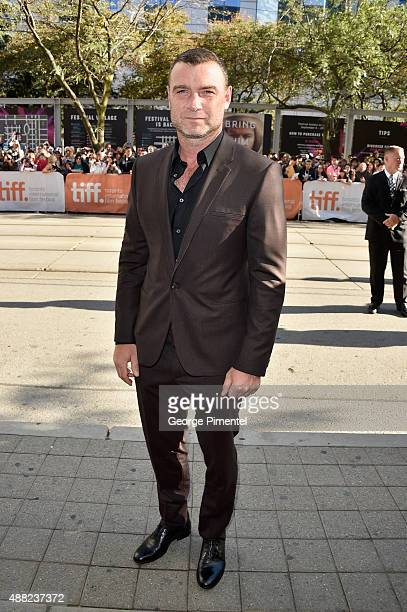 Actor Liev Schreiber attends the 'Spotlight' premiere during the 2015 Toronto International Film Festival at The Elgin on September 14 2015 in...