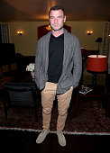 Actor Liev Schreiber attends Vanity Fair and Barneys New York Private Dinner Celebrating 'Spotlight' Director Tom McCarthy at Chateau Marmont on...