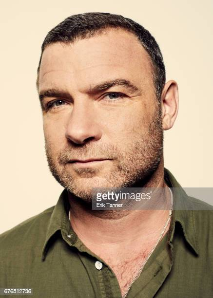 Actor Liev Schreiber from 'Chuck' poses at the 2017 Tribeca Film Festival portrait studio on April 28 2017 in New York City