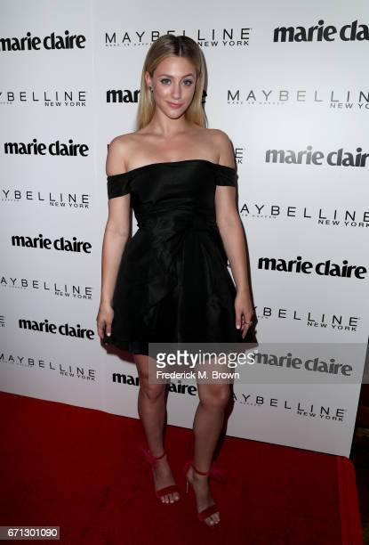 Actor Lili Reinhart attends Marie Claire's 'Fresh Faces' celebration with an event sponsored by Maybelline at Doheny Room on April 21 2017 in West...