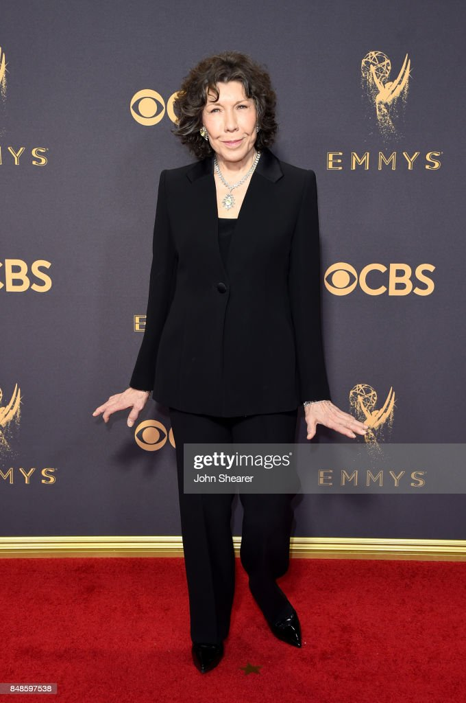 Actor Lily Tomlin attends the 69th Annual Primetime Emmy Awards at Microsoft Theater on September 17, 2017 in Los Angeles, California.