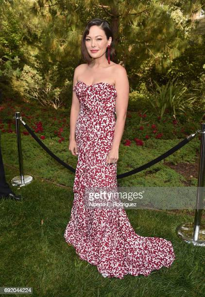 Actor Lindsay Price at the 16th Annual Chrysalis Butterfly Ball on June 3 2017 in Los Angeles California