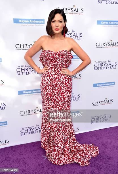 Actor Lindsay Price attends the 16th Annual Chrysalis Butterfly Ball at a Private Residence on June 3 2017 in Los Angeles California