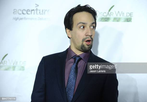 Actor LinManuel Miranda attends the 12th annual Oscar Wilde Awards at Bad Robot on February 23 2017 in Santa Monica California