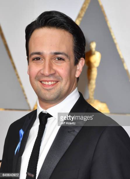 Actor LinManuel Miranda attends the 89th Annual Academy Awards at Hollywood Highland Center on February 26 2017 in Hollywood California