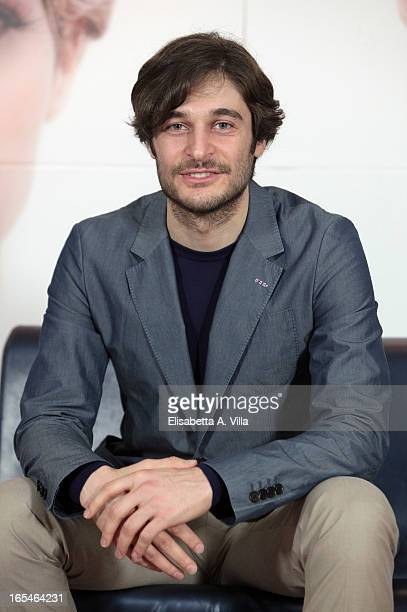 Actor Lino Guanciale attends 'Il Volto di un'Altra' at Cinema Barberini on April 4 2013 in Rome Italy
