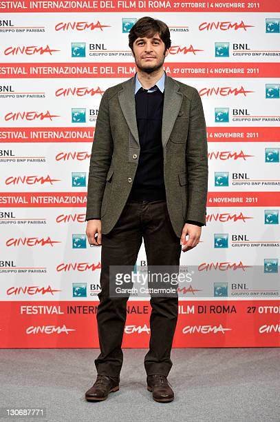 Actor Lino Guanciale attends the 'Il Mio Domani' photocall during the 6th International Rome Film Festival on October 28 2011 in Rome Italy