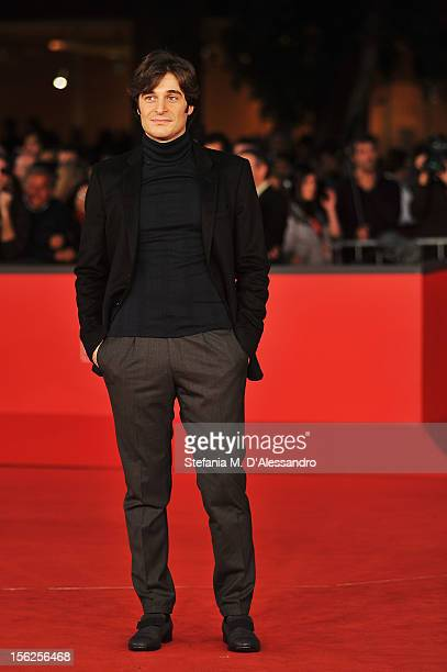 Actor Lino Guanciale attends the 'Il Volto Di Un'Altra' Premiere during the 7th Rome Film Festival at the Auditorium Parco Della Musica on November...