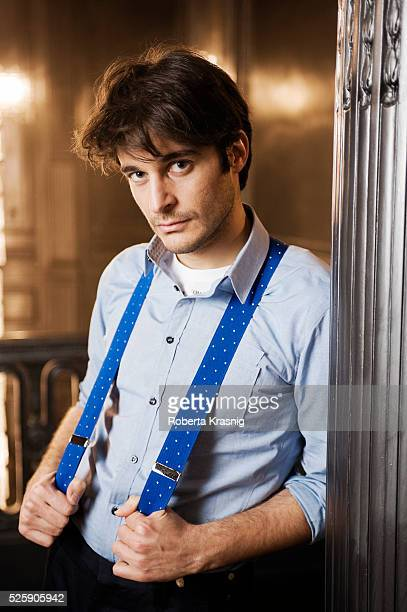 Actor Lino Guanciale is photographed for Self Assignment on january 30 2012 in Rome Italy