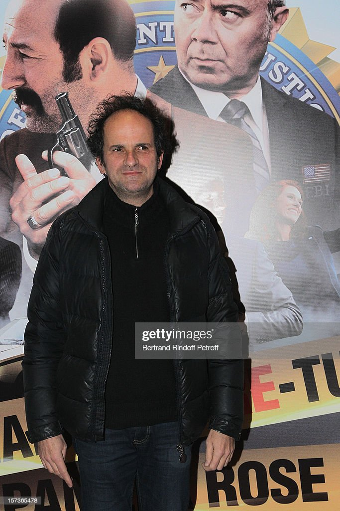 Actor Lionel Abelanski attends the Paris Premiere of the movie 'Mais Qui A Re Tue Pamela Rose', at Cinema Gaumont Marignan on December 2, 2012 in Paris, France.