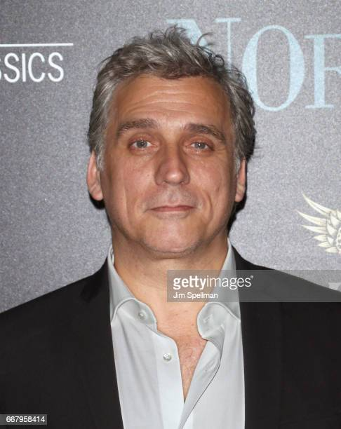 Actor Lior Ashkenazi attends the screening of Sony Pictures Classics' 'Norman' hosted by The Cinema Society with NARS AVION at the Whitby Hotel on...