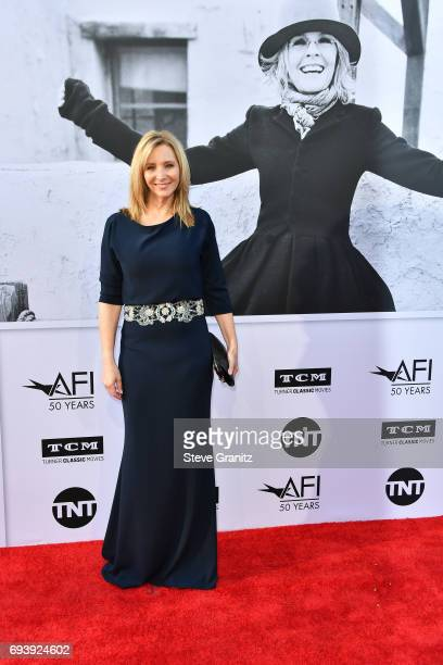 Actor Lisa Kudrow arrives at the AFI Life Achievement Award Gala Tribute to Diane Keaton at Dolby Theatre on June 8 2017 in Hollywood California