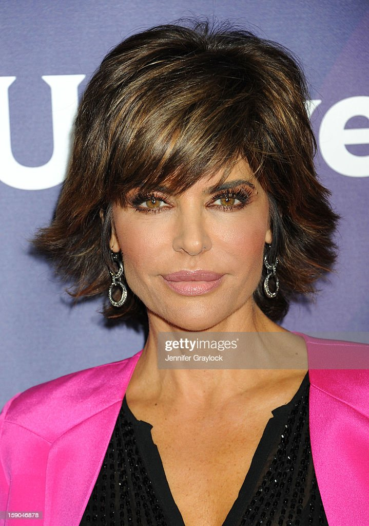 Actor Lisa Rinna attends the NBC Winter TCA Press Tour held at the Langham Huntington Hotel and Spa on January 6, 2013 in Pasadena, California.