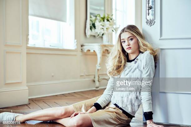 Actor Lizzy Greene is photographed for Posh Kids magazine on December 18 2016 in Los Angeles California