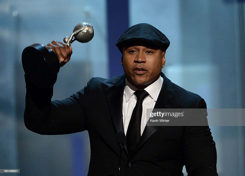 Actor LL Cool J accepts Outstanding Actor in a Drama Series for 'NCIS: Los Angeles' onstage during the 44th NAACP Image Awards at The Shrine Auditorium on February 1, 2013 in Los Angeles, California.