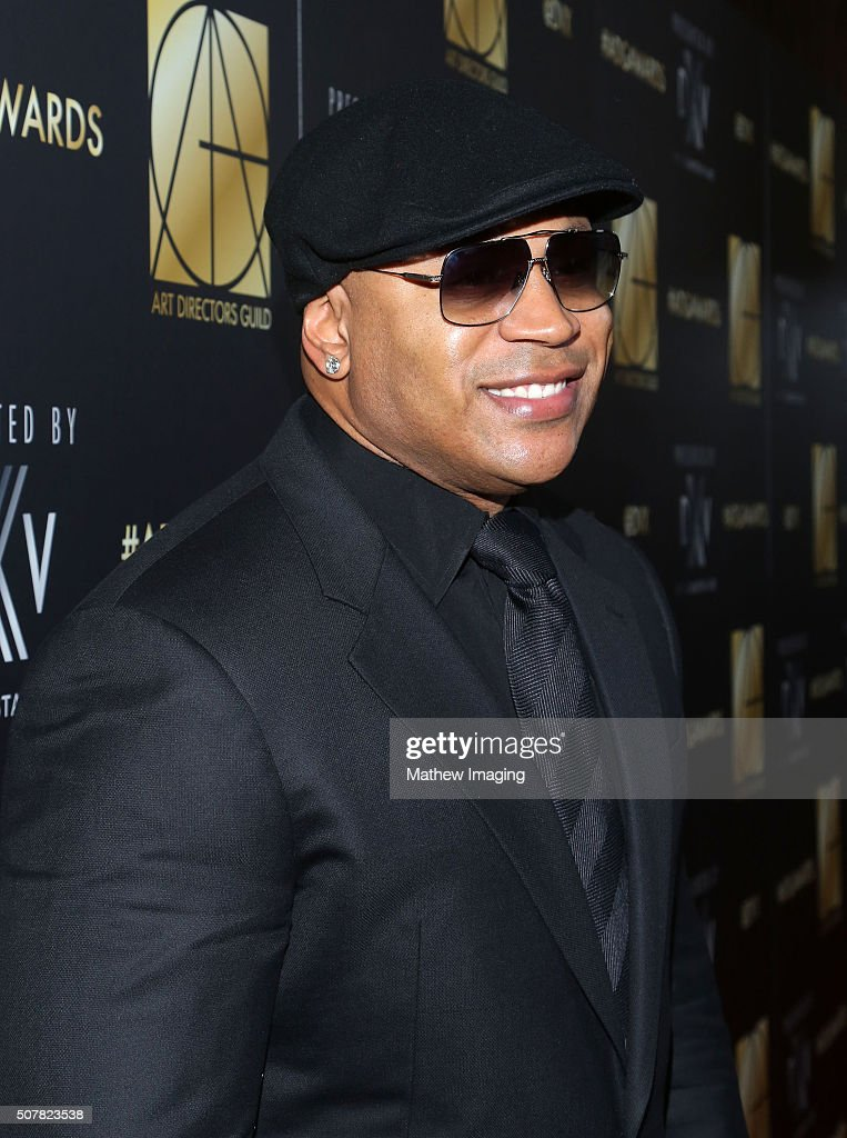 Actor LL Cool J arrives at the 20th Annual Art Directors Guild Excellence In Production Design Awards at The Beverly Hilton Hotel on January 31 2016...