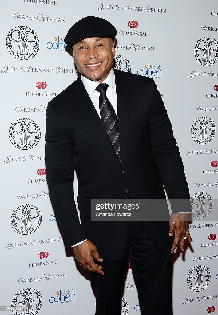 Actor <a gi-track='captionPersonalityLinkClicked' href=/galleries/search?phrase=LL+Cool+J&family=editorial&specificpeople=201567 ng-click='$event.stopPropagation()'>LL Cool J</a> arrives at the 55th Annual Women's Guild Cedars-Sinai Anniversary Gala at the Beverly Wilshire Four Seasons Hotel on November 13, 2012 in Beverly Hills, California.