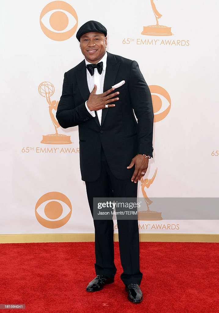 Actor LL Cool J arrives at the 65th Annual Primetime Emmy Awards held at Nokia Theatre LA Live on September 22 2013 in Los Angeles California