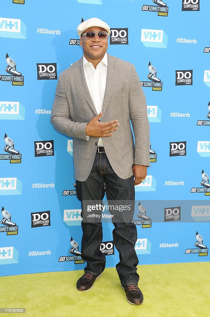 Actor LL Cool J arrives at the DoSomething.org and VH1's 2013 Do Something Awards at Avalon on July 31, 2013 in Hollywood, California.