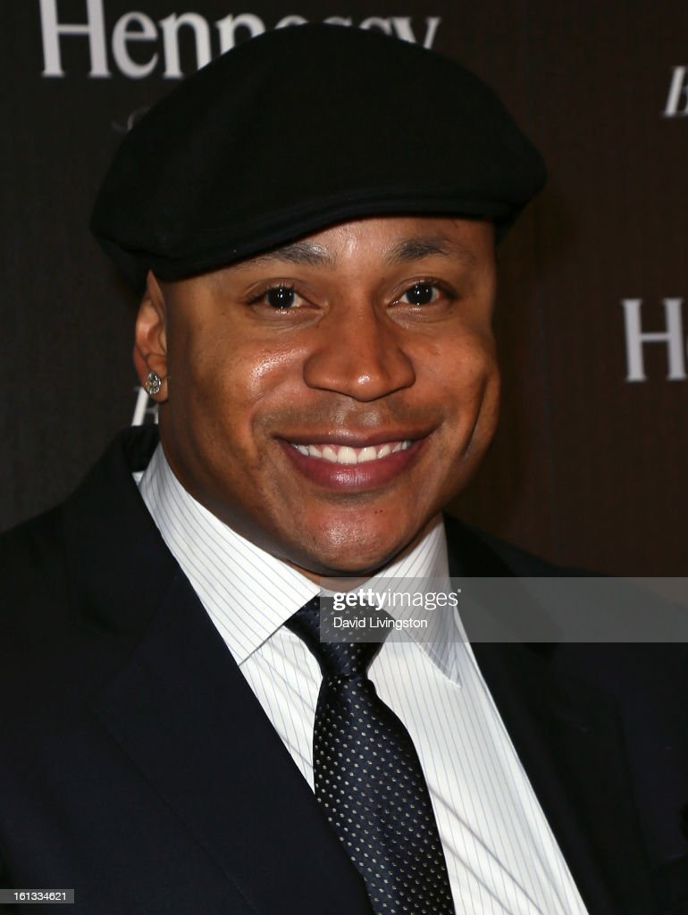 Actor <a gi-track='captionPersonalityLinkClicked' href=/galleries/search?phrase=LL+Cool+J&family=editorial&specificpeople=201567 ng-click='$event.stopPropagation()'>LL Cool J</a> attends the Hennessy Toasts Achievements In Music event with GRAMMY Host <a gi-track='captionPersonalityLinkClicked' href=/galleries/search?phrase=LL+Cool+J&family=editorial&specificpeople=201567 ng-click='$event.stopPropagation()'>LL Cool J</a> and Mark Burnett at The Bazaar at the SLS Hotel Beverly Hills on February 9, 2013 in Los Angeles, California.