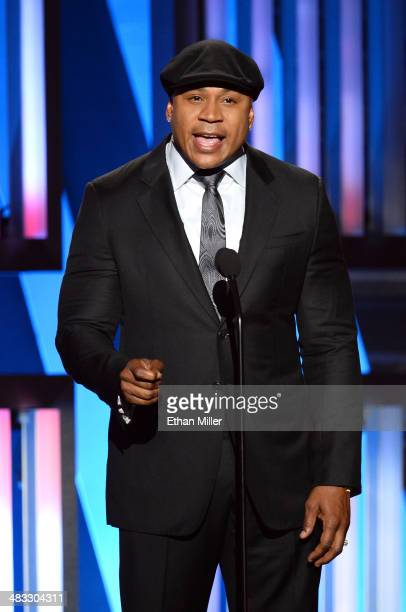 Actor LL Cool J speaks onstage during ACM Presents An AllStar Salute To The Troops at the MGM Grand Garden Arena on April 7 2014 in Las Vegas Nevada
