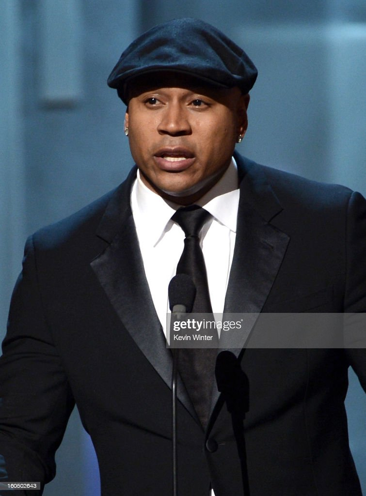 Actor LL Cool J speaks onstage during the 44th NAACP Image Awards at The Shrine Auditorium on February 1, 2013 in Los Angeles, California.