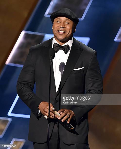Actor LL Cool J speaks onstage during the 67th Annual Primetime Emmy Awards at Microsoft Theater on September 20 2015 in Los Angeles California