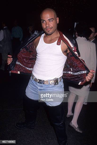 Actor Lobo Sebastian attends the '187' West Hollywood Premiere on July 29 1997 at the DGA Theatre in West Hollywood California
