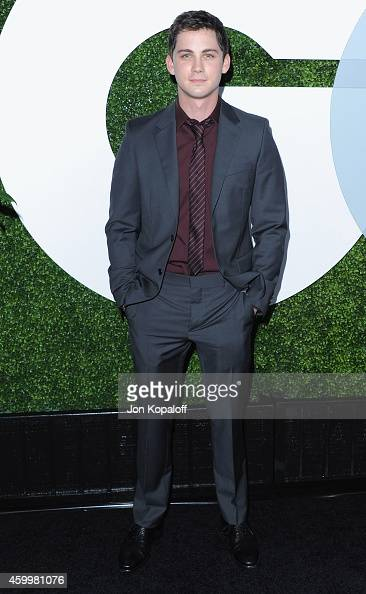 Actor Logan Lerman arrives at the 2014 GQ Men Of The Year Party at Chateau Marmont on December 4 2014 in Los Angeles California