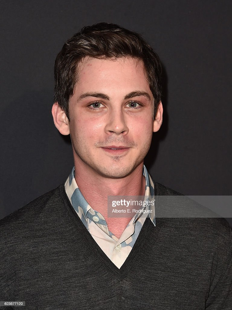 Actor Logan Lerman attends Prada Presents 'Past Forward' by David O. Russell premiere at Hauser Wirth & Schimmel on November 15, 2016 in Los Angeles, California.