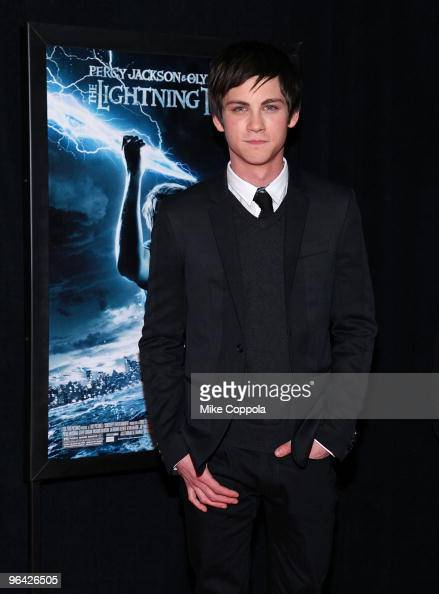 Actor Logan Lerman attends the 'Percy Jackson The Olympians The Lightning Thief' special screening at AMC Loews Lincoln Square 13 theater on February...