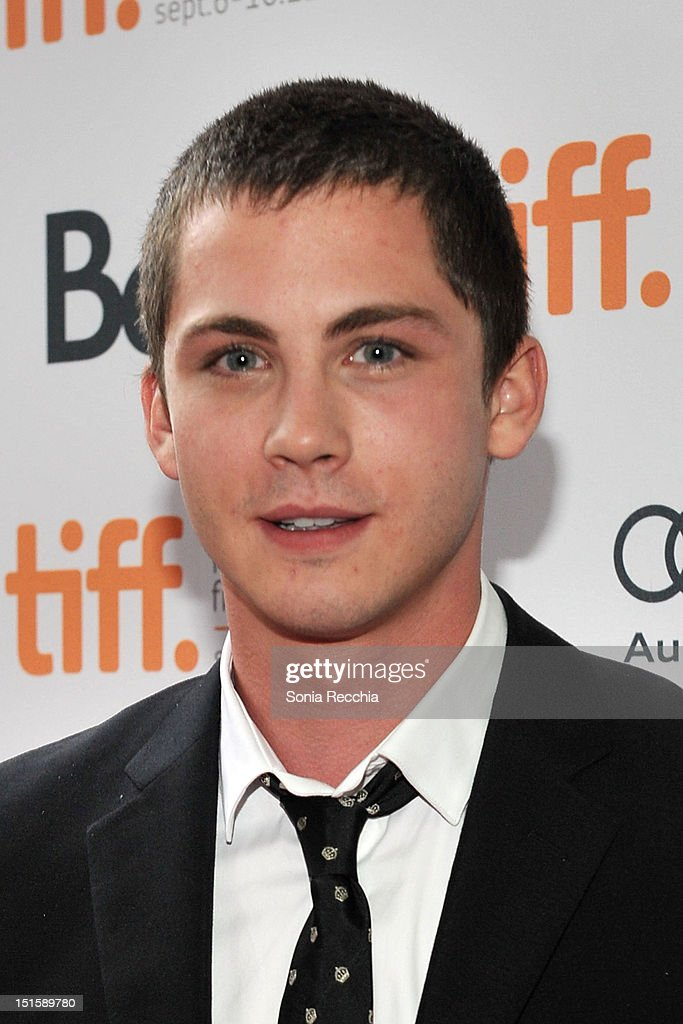 Actor Logan Lerman attends 'The Perks Of Being A Wallflower' premiere during the 2012 Toronto International Film Festival at Ryerson Theatre on...