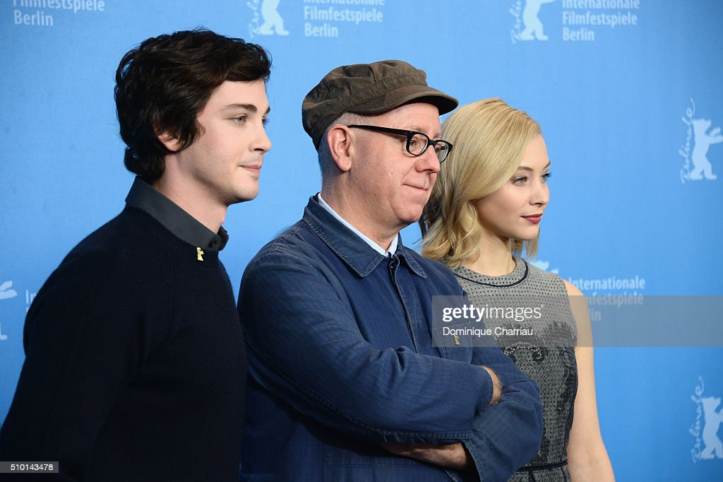 Actor <a gi-track='captionPersonalityLinkClicked' href=/galleries/search?phrase=Logan+Lerman&family=editorial&specificpeople=635439 ng-click='$event.stopPropagation()'>Logan Lerman</a>, director <a gi-track='captionPersonalityLinkClicked' href=/galleries/search?phrase=James+Schamus&family=editorial&specificpeople=628217 ng-click='$event.stopPropagation()'>James Schamus</a> and actress <a gi-track='captionPersonalityLinkClicked' href=/galleries/search?phrase=Sarah+Gadon&family=editorial&specificpeople=6606524 ng-click='$event.stopPropagation()'>Sarah Gadon</a> attend the 'Indignation' photo call during the 66th Berlinale International Film Festival Berlin at Grand Hyatt Hotel on February 14, 2016 in Berlin, Germany.