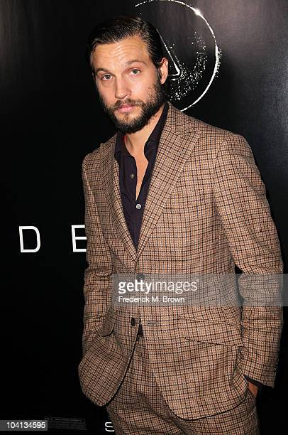 Actor Logan MarshallGreen attends the Universal Pictures' film premiere 'Devil' at The London West Hollywood on September 15 2010 in West Hollywood...