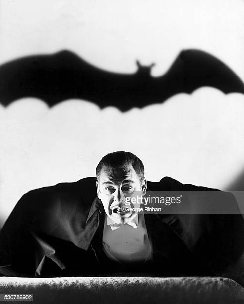 Actor Lon Chaney Jr stars as a vampire in the 1943 film Son of Dracula