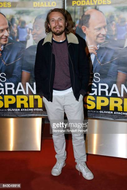 Actor Lorant Deutsch attends the 'Les grands Esprits' Paris Premiere at UGC Cine Cite des Halles on September 5 2017 in Paris France