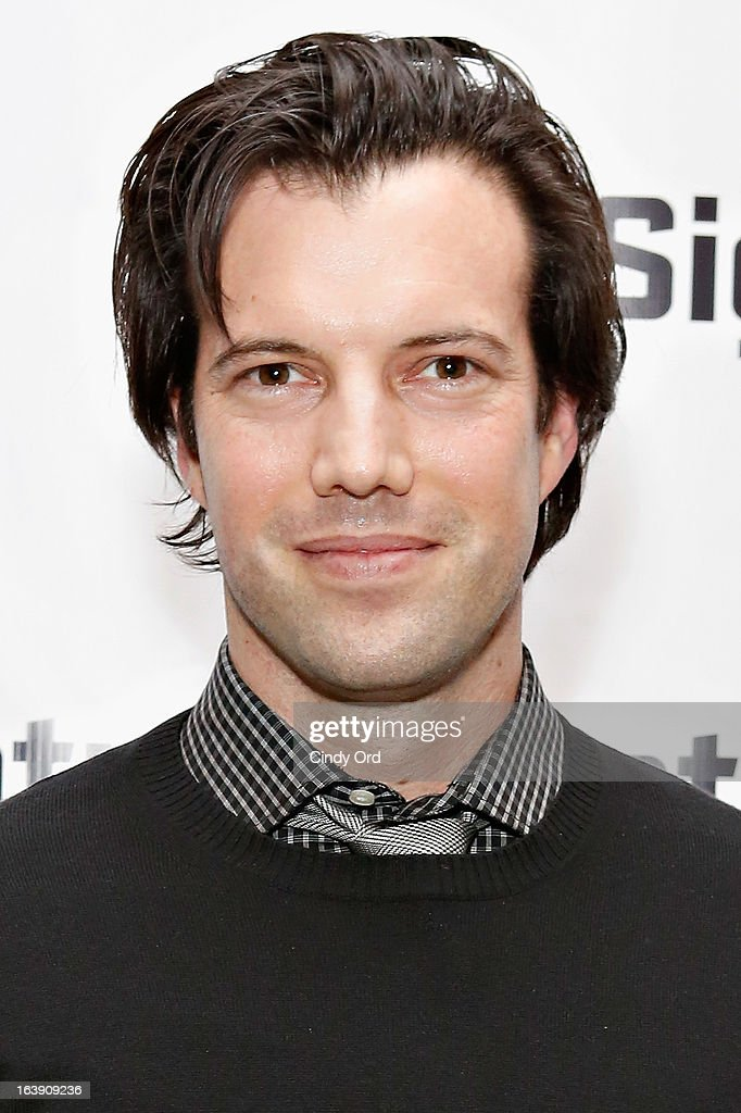 Actor Lorenzo Pisoni attends 'The Mound Builders' Opening Night Party at Signature Theatre Company's The Pershing Square Signature Center on March 17, 2013 in New York City.