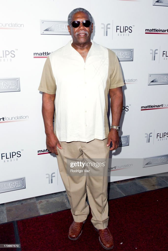 Actor Lou Beatty Jr. arrives at the Matt Leinart Foundation's 7th Annual 'Celebrity Bowl' at Lucky Strikes on July 18, 2013 in Hollywood, California.