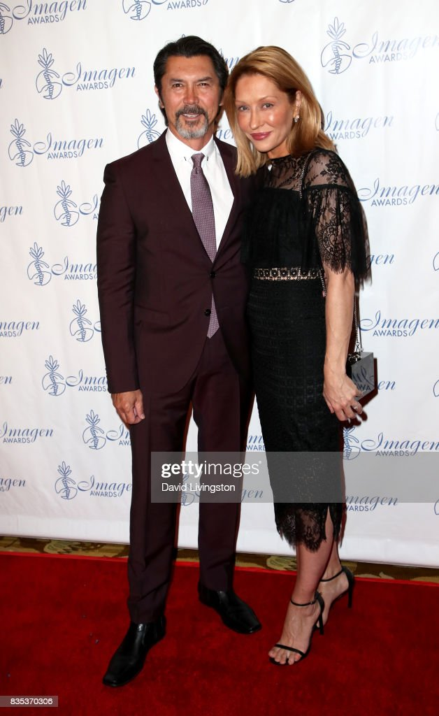 Actor Lou Diamond Phillips (L) and Yvonne Phillips attend the 32nd Annual Imagen Awards at the Beverly Wilshire Four Seasons Hotel on August 18, 2017 in Beverly Hills, California.