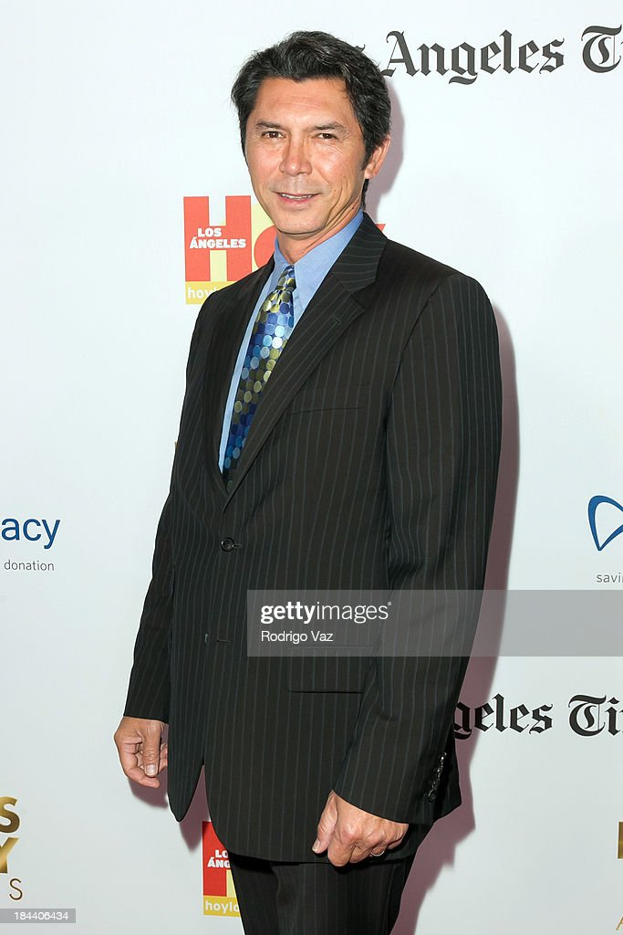 Actor Lou Diamond Phillips arrives at the 2013 Latinos De Hoy Awards at Los Angeles Times Chandler Auditorium on October 12, 2013 in Los Angeles, California.