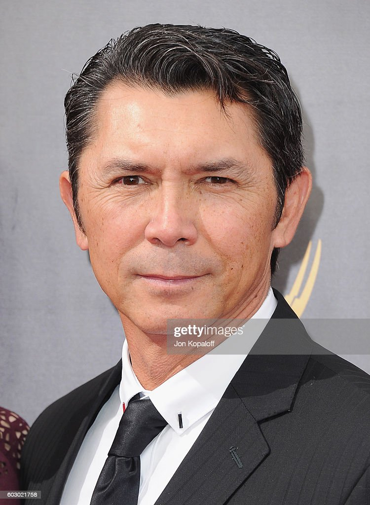 Actor Lou Diamond Phillips arrives at the 2016 Creative Arts Emmy Awards at Microsoft Theater on September 11, 2016 in Los Angeles, California.
