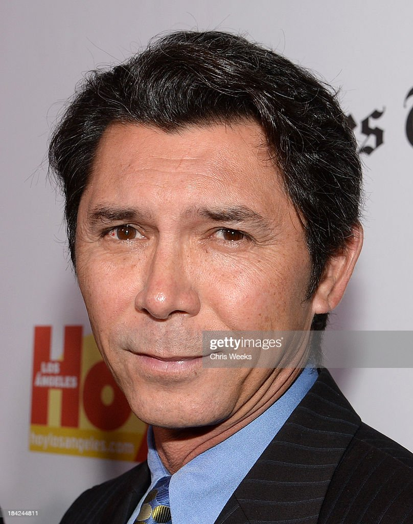 Actor <a gi-track='captionPersonalityLinkClicked' href=/galleries/search?phrase=Lou+Diamond+Phillips&family=editorial&specificpeople=214756 ng-click='$event.stopPropagation()'>Lou Diamond Phillips</a> attends the '2013 Latinos de Hoy Awards' Sponsored by OneLegacy on Saturday, October 12 at Los Angeles Times Chandler Auditorium in Los Angeles, California.