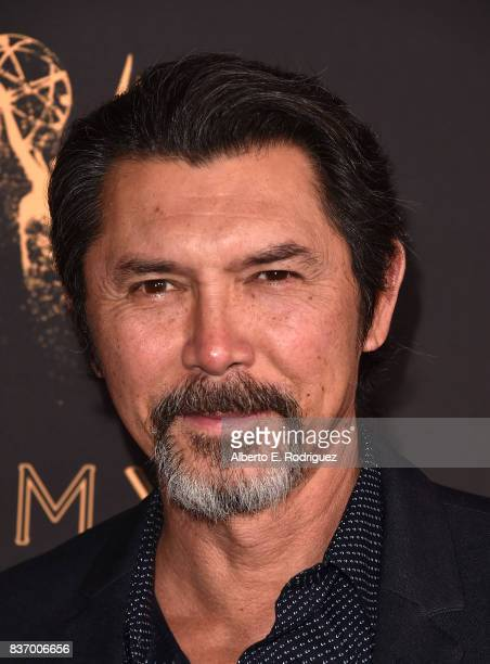 Actor Lou Diamond Phillips attends the Television Academy's Performers Peer Group Celebration at The Montage Beverly Hills on August 21 2017 in...